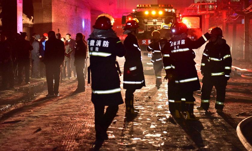 22 osoby spłonęły żywcem