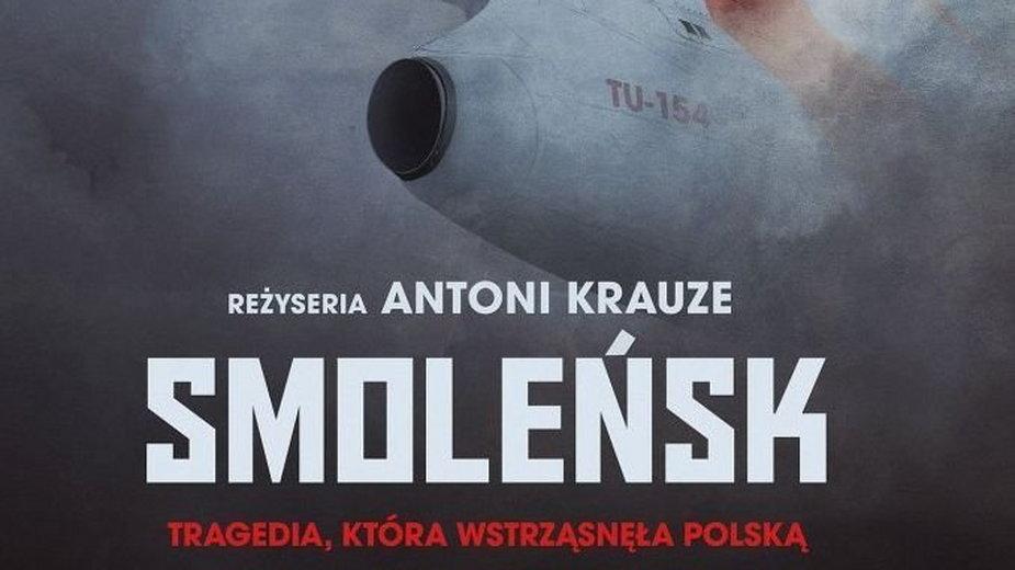 """""""Smoleńsk"""": fragment plakatu filmu"""