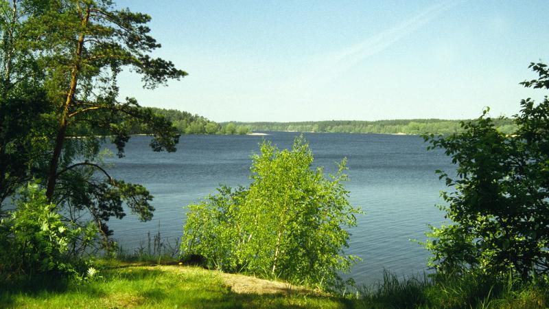 Augustów - jezioro Sajno