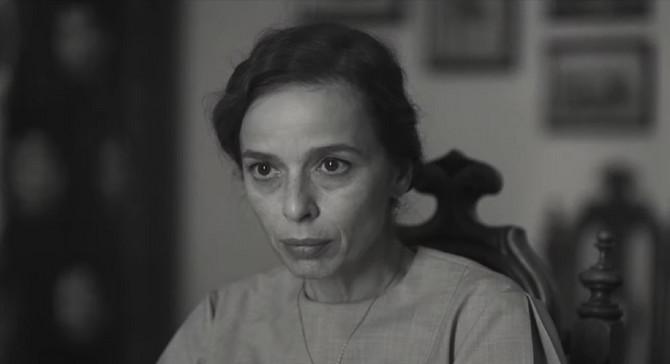 Alma Prica u ulozi Diane Budisavljević u filmu