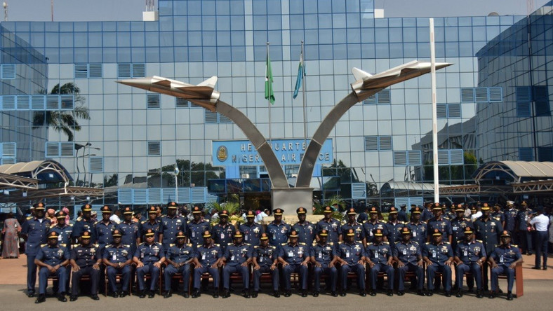 Airforce chief decorates 54 newly promoted officers - Pulse