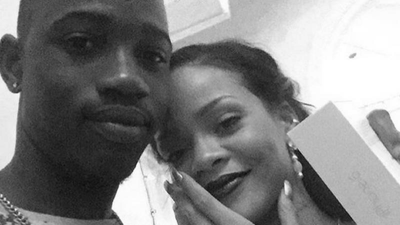 Rihanna z kuzynem