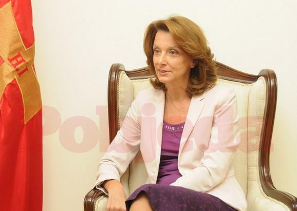 Milica Pejanović Đurišić, ministarka odbrane Crne Gore