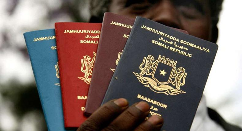 Passport fees of African passports
