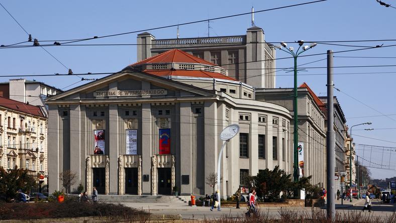 Gmach Teatru Śląskiego w Katowicach