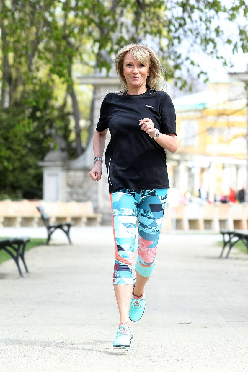 Mariola Bojarska-Ferenc uwielbia aktywny styl życia