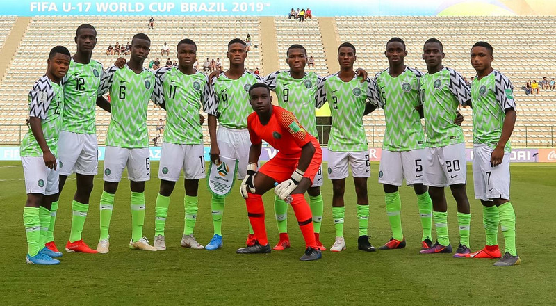 Golden Eaglets of Nigeria lose 2-1 to Australia in their last group game of 2019 FIFA U17 World Cup