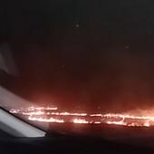 ZBOGOM, PAMETI Magistrala Novi Sad - Vrbas prekrivena gustim dimom od SPALJIVANJA STRNJIKE