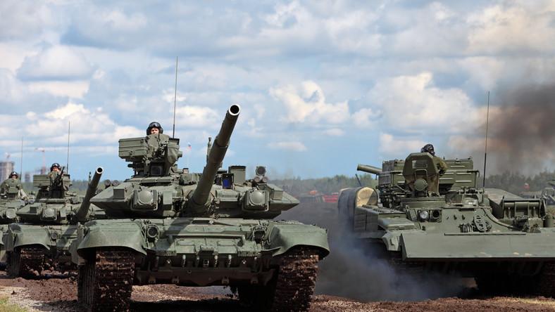 Rosja rosyjskie czołgi