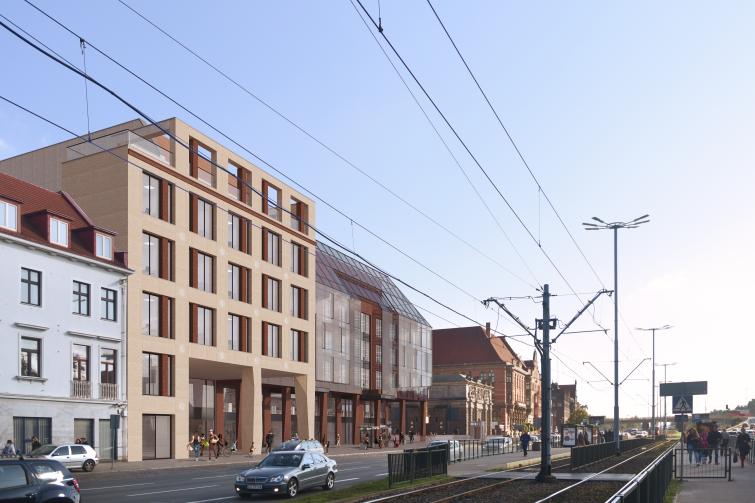 Nowy obiekt w centrum Gdańska
