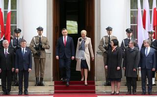 Prezydent podziękował odznaczonym za to co robią dla polskości i Polski
