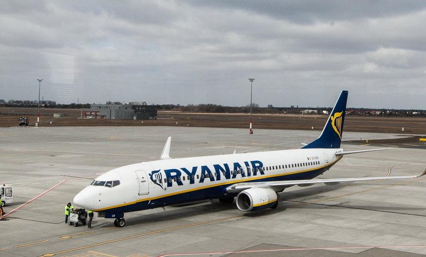 Ryanair konferencja.