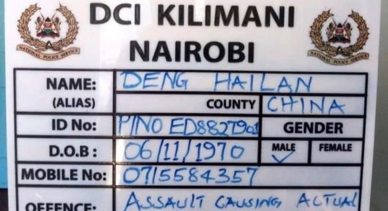 Deng Hailan, 3 other Chinese nationals remanded for 3 days after viral video caning Kenyan worker