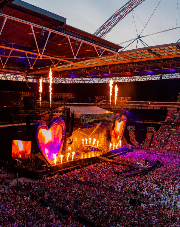 Koncert P!nk, Wembley 30 czerwca 2019 fot. Andrew MacPherson