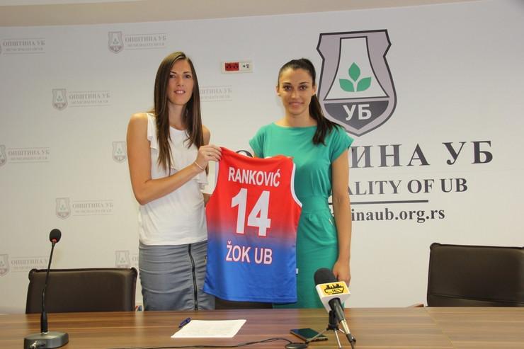 Ljiljana Ranković na potpisivanju ugovora