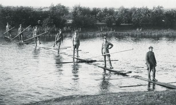 Patrol KOP w powiecie stołpeckim. 1929 r.