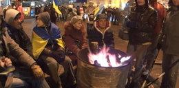 Dziennikarze Faktu na barykadach w Kijowie