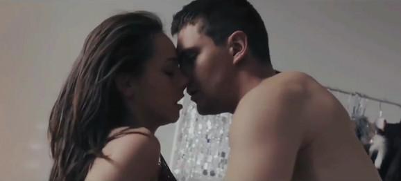Jovana Stojiljković i Miloš Biković u filmu