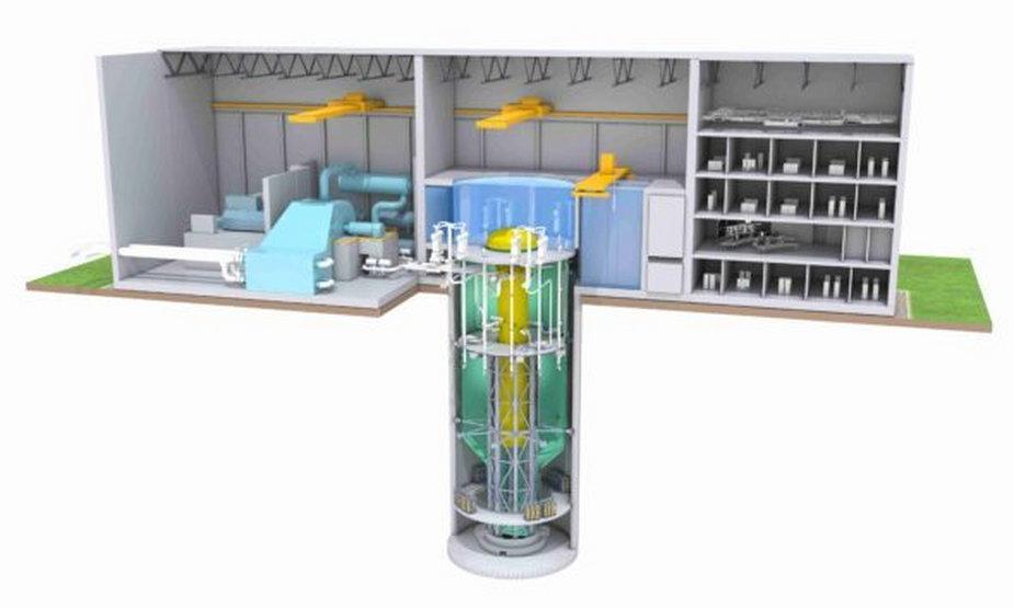 Reaktor BWRX-300 / fot. GE Hitachi