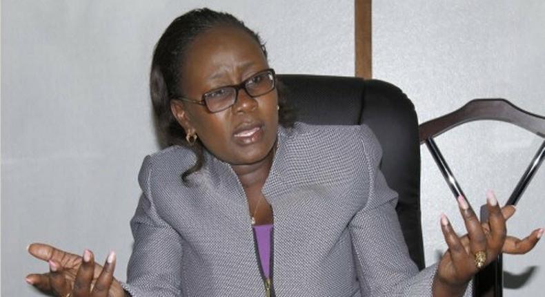Former nominated Senator Joy Gwendo
