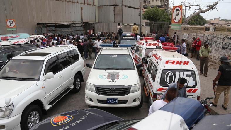 Atak na giełdę w Karaczi