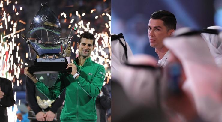 Novak Đoković i Kristijano Ronaldo vlasnici zlatne vize UAE