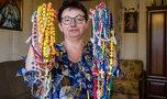 Pani Mariola Dusza ma niezwykłą kolekcję: Robienie różańców mnie uspokaja