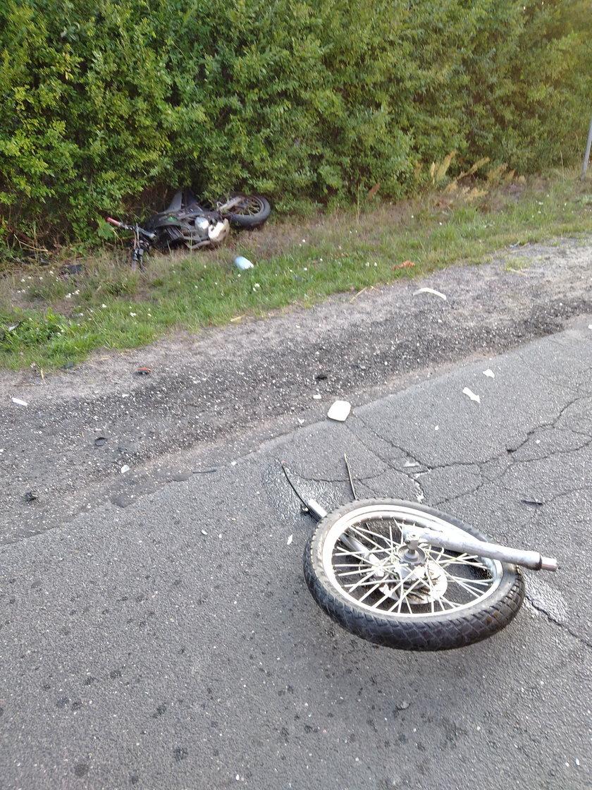 Śmierć motocyklisty pod Łaskiem