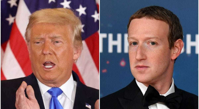 Zuckerberg bans Trump from Facebook and Instagram till the end of his tenure