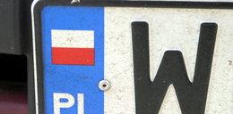 Uwaga! Niszczą samochody z obcymi tablicami rejestracyjnymi!
