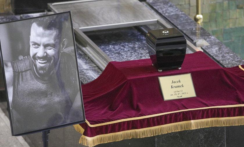 Pogrzeb Jacka Kramka.