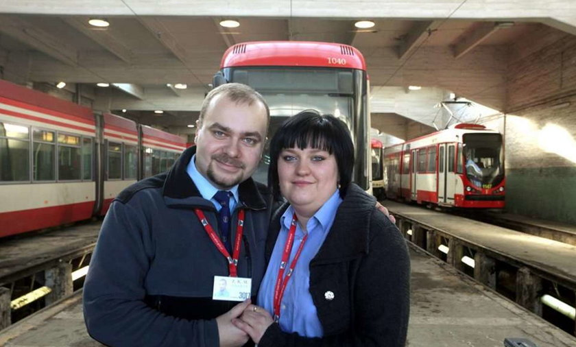 Do ślubu pojadą tramwajem!