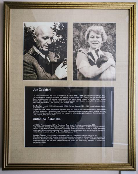 Jan i Antonina Żabińscy