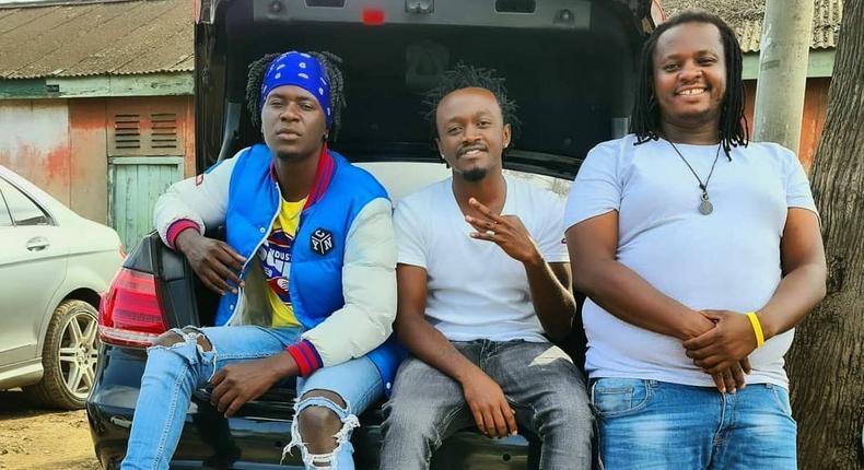 Willy Paul, Bahati and DK Kwenye Beat