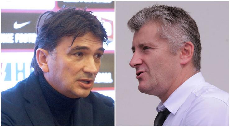 Zlatko Dalić i Davor Šuker