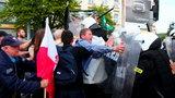 Manifestacja w Gdańsku. Zaatakowana policja
