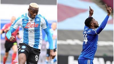 Good Sunday for Nigerian strikers; Osimhen, Iheanacho and Onuachu get on the scoresheet in Europe