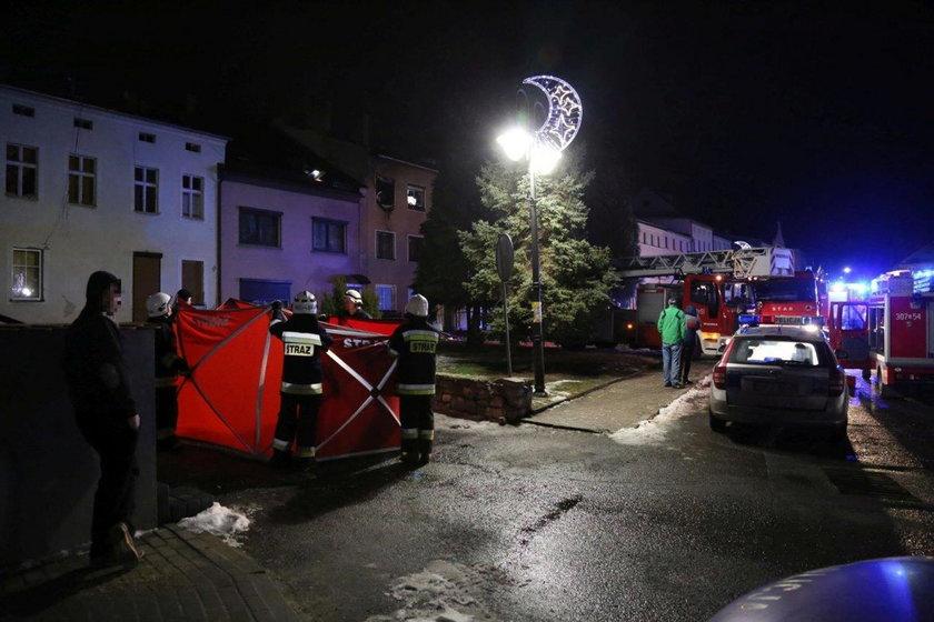 Służby zostały zaalarmowane w piątek po godz. 22