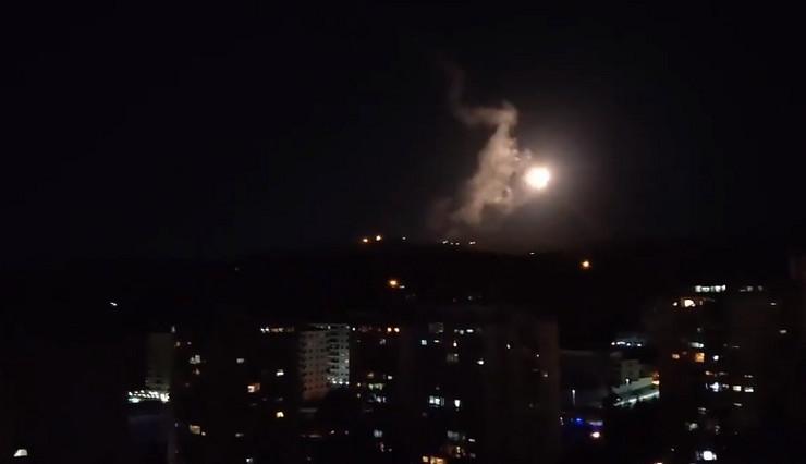 Damask raketni napad