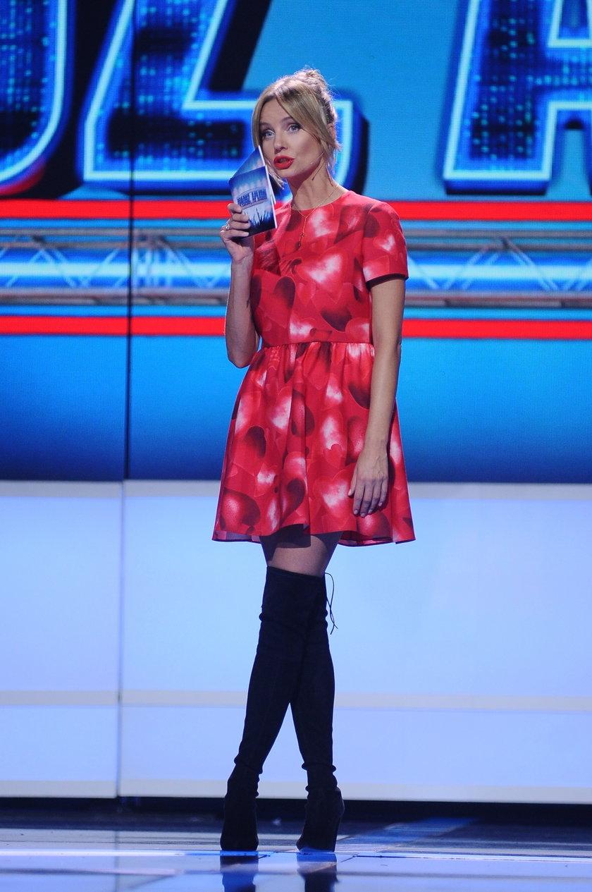 Agnieszka Szulim w sukience Valentino