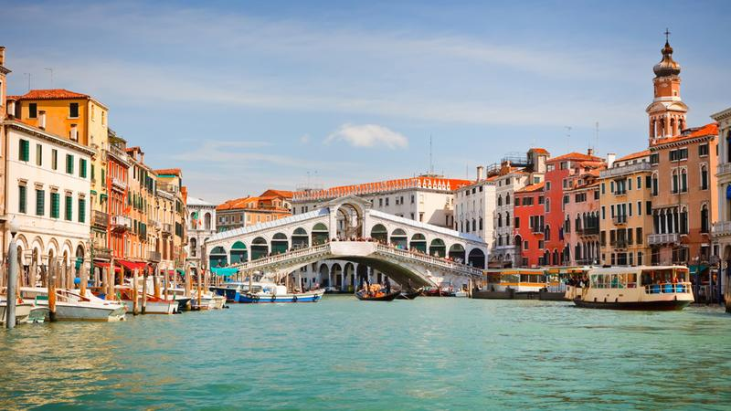 Wenecja, Grand Canale i most Rialto