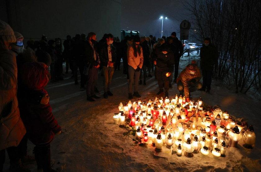 Marsz Milczenia ku pamięci Patrycji zorganizowano w Piekarach Śląskich