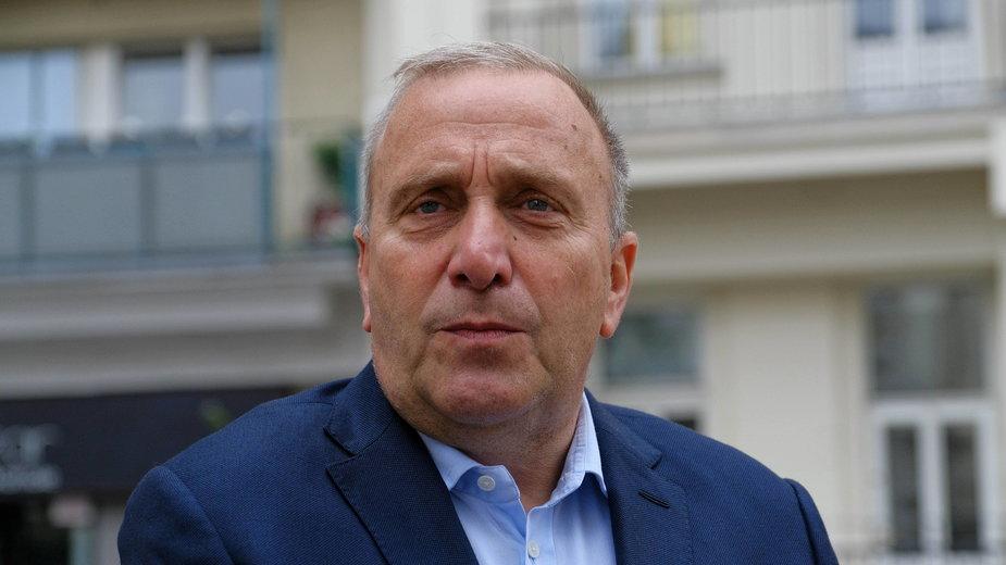 Grzegorz Schetyna skomentował wyniki wyborów  prezydenckich