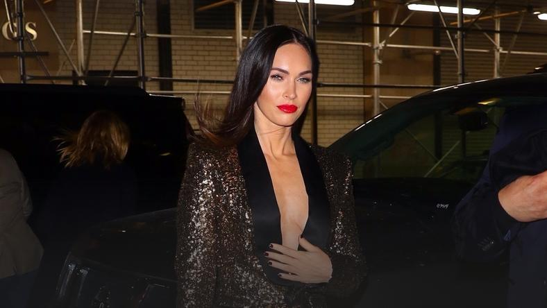 "Megan Fox na nagraniu  ""Watch What Happens Live!"""