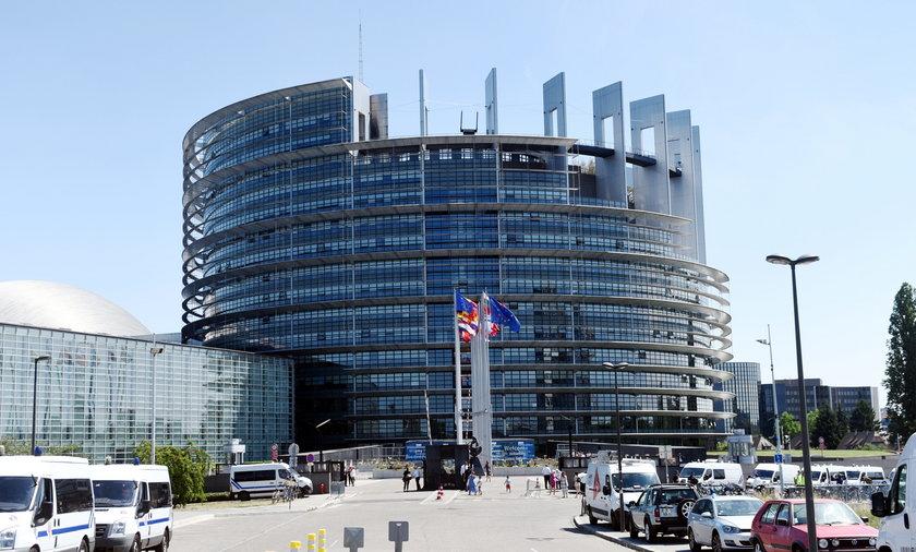 Siedziba Parlamentu Europejskiej w Strasburgu