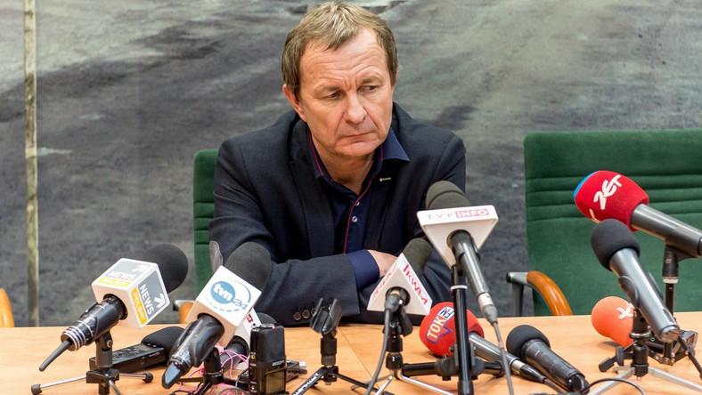 Dyrektor kopalni Rudna Paweł Markowski