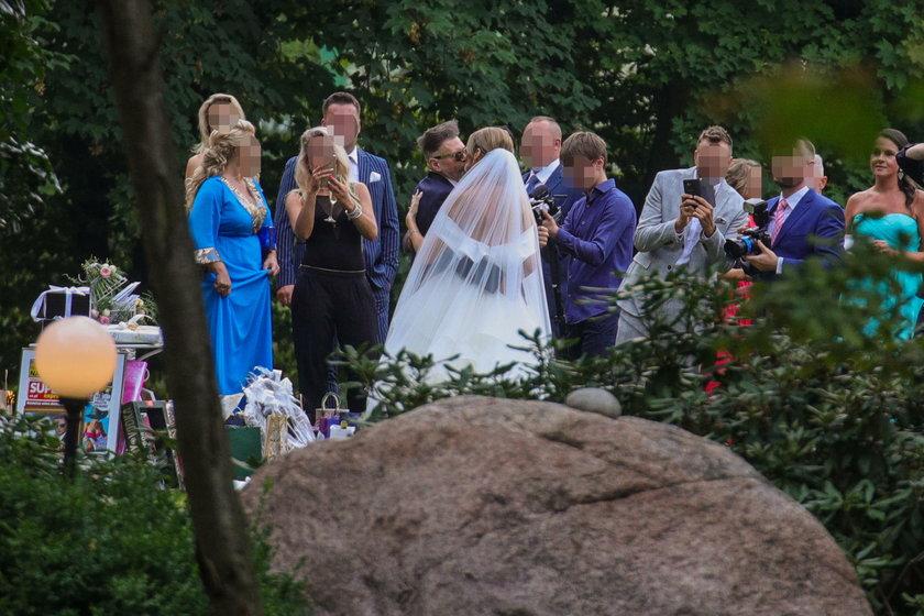 Ślub Mai Plich i Krzysztofa Rutkowskiego