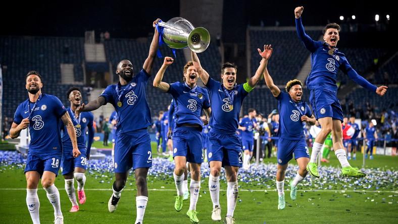 Chelsea wygrywa Ligę Mistrzów