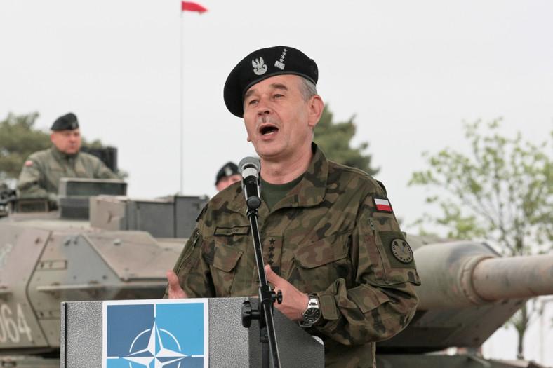 Dowódca Sztabu Generalnego Wojska Polskiego gen. Mieczysław Gocuł
