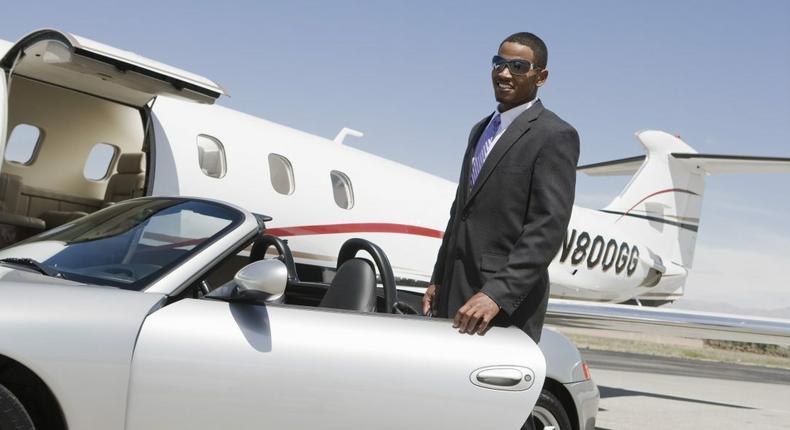 Rich black man (Black enterprise)